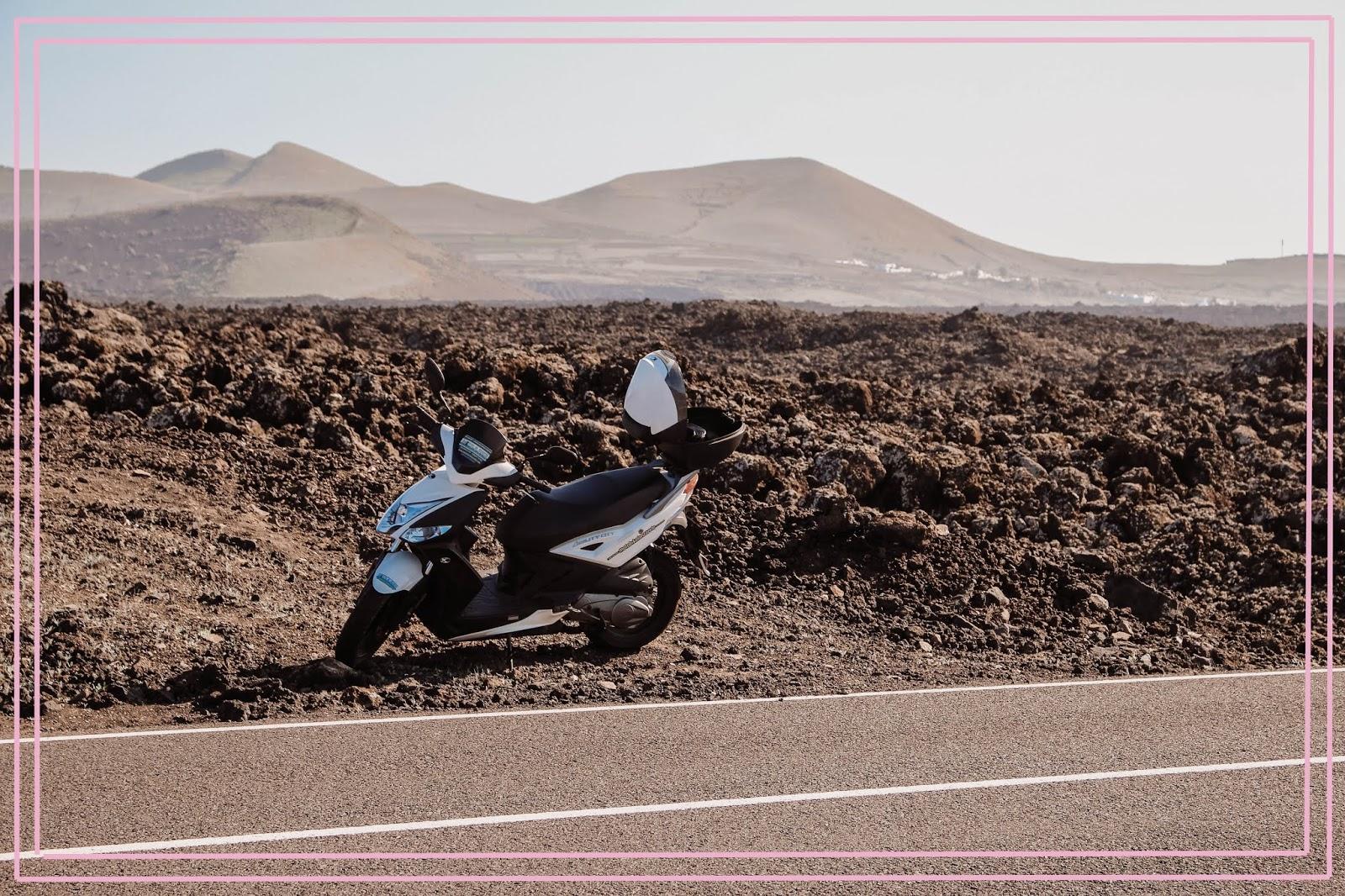 Lanzarote Scooter Rental Hire Playa Blanca