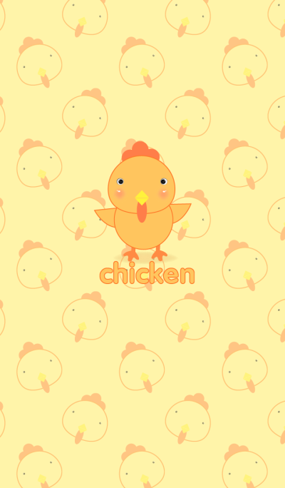 Simple cute chicken theme