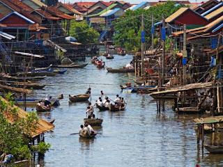 Tonlé Sap (Village flottant)