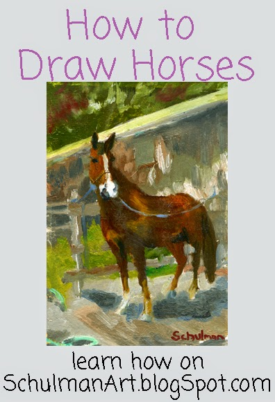 drawing horses | how to draw a horse