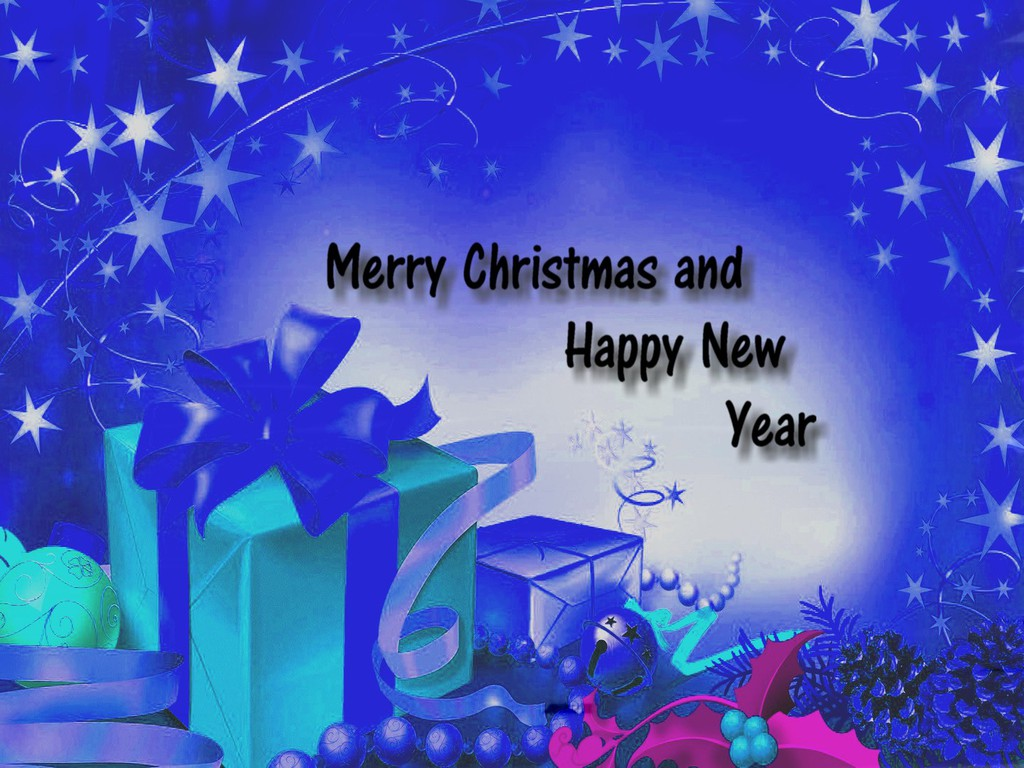 Free PSP Themes Wallpaper: Happy New Year And Christmas