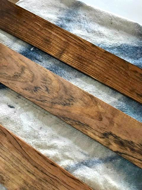 Step by step how to stain