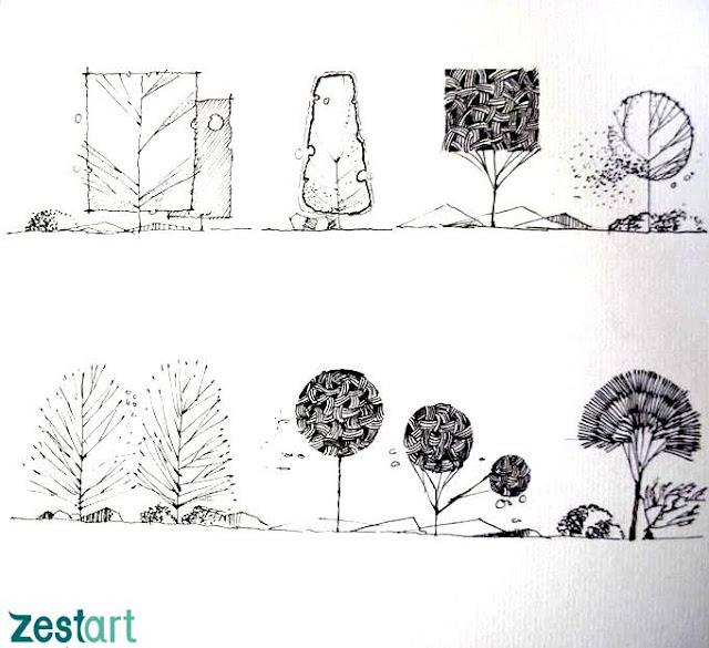 khóa học kí họa cơ bản diễn họa kiến trúc tphcm