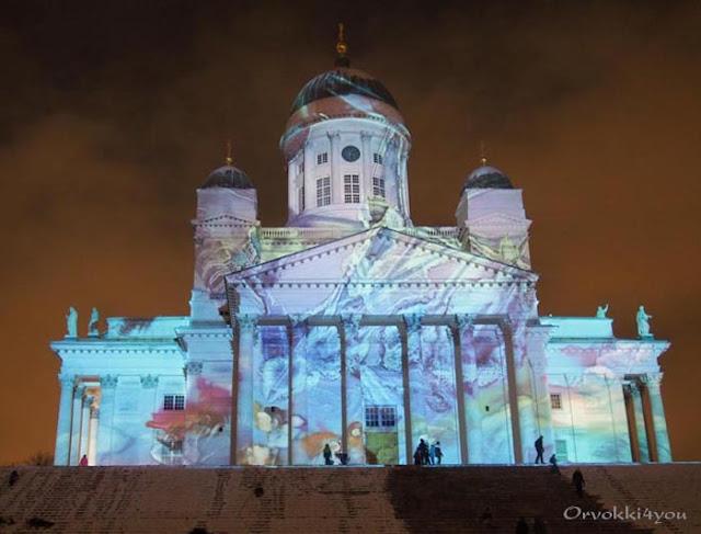 Lux Helsinki laajenee jo Itäkeskukseen asti – valokarnevaali kirkastaa kaupungin viideksi päiväksi