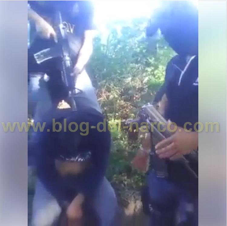 Video interrogatorio a halcón del grupo Sangre Nueva en #Chilpancingo #Guerrero