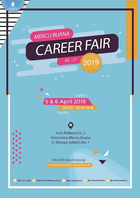 Job Fair Jakarta di Mercu Buana
