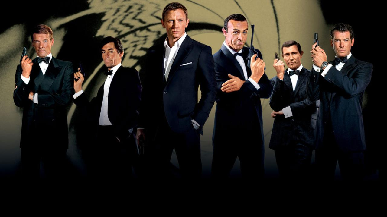 The Gallifreyan Gazette: My Top Ten James Bond Films 10 - 6