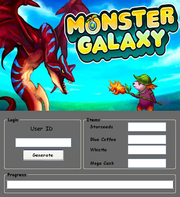 Download Free Monster Galaxy (All Versions) Hack Unlimited Star seeds,Blue Coffee,Whistle, Mega Cash 100% working and Tested for IOS and Android MOD.