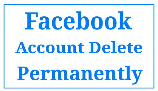 Facebook account Permanently delete kaise kare ~ Smart Pro India