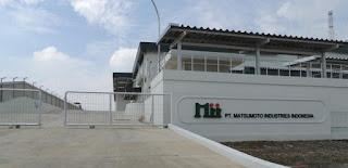Loker Operator Produksi Karawang PT. Matsumoto Industries Indonesia (MII) Terbaru