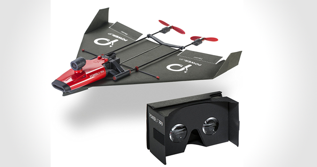 Paper Airplane VR Drone Model Kit