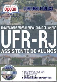 Apostila UFRRJ Assistente de Alunos - Universidade Federal Rural RJ (UFR RJ)