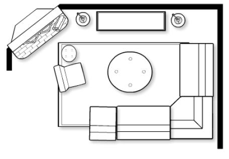 Foundation Dezin & Decor...: Small Living Room Layout's.