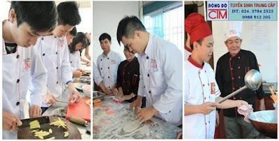 Trung cấp nấu ăn chất lượng cao