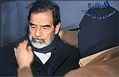 جندى أمريكى يبعث الى زوجته رسالة بعد أن شاهد إعدام صدام حسين أنظر ماذا قال