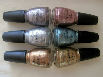 China Glaze Crackle Metals