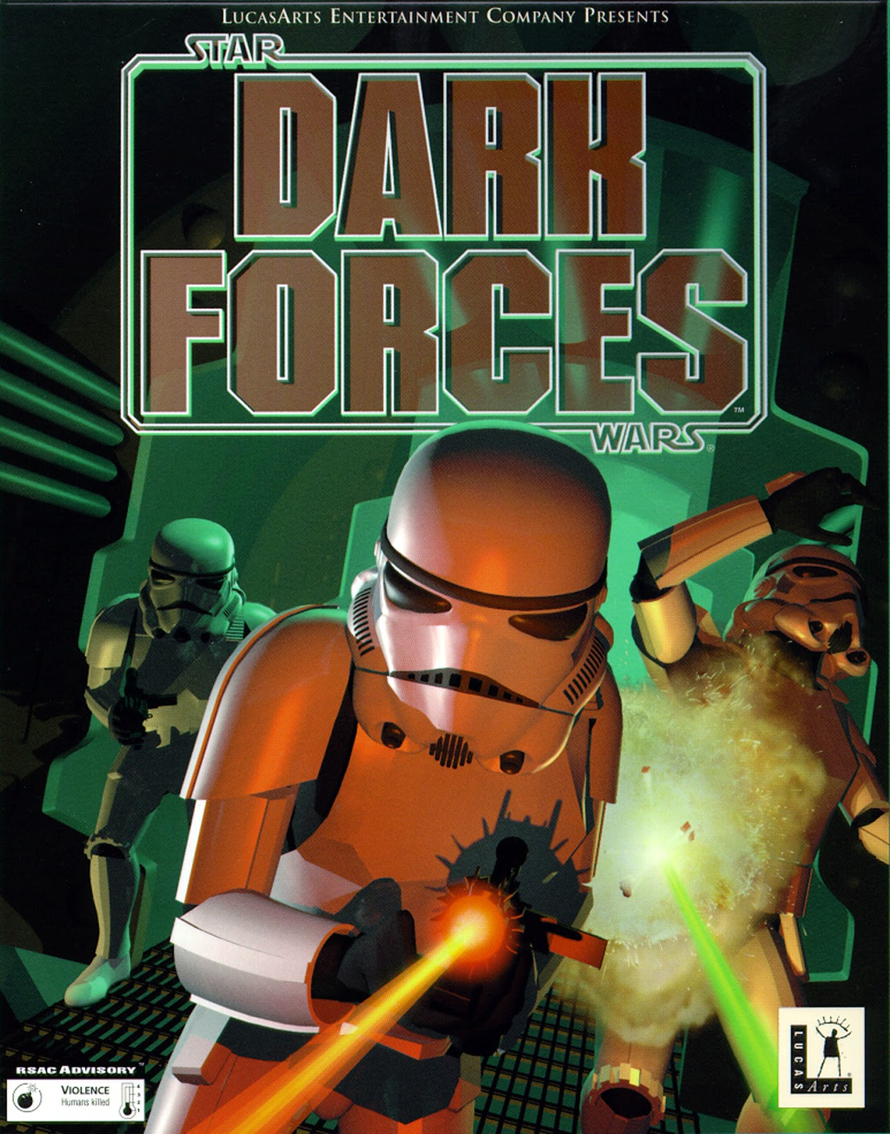 Whopper's Bunker: Retro Review: Dark Forces