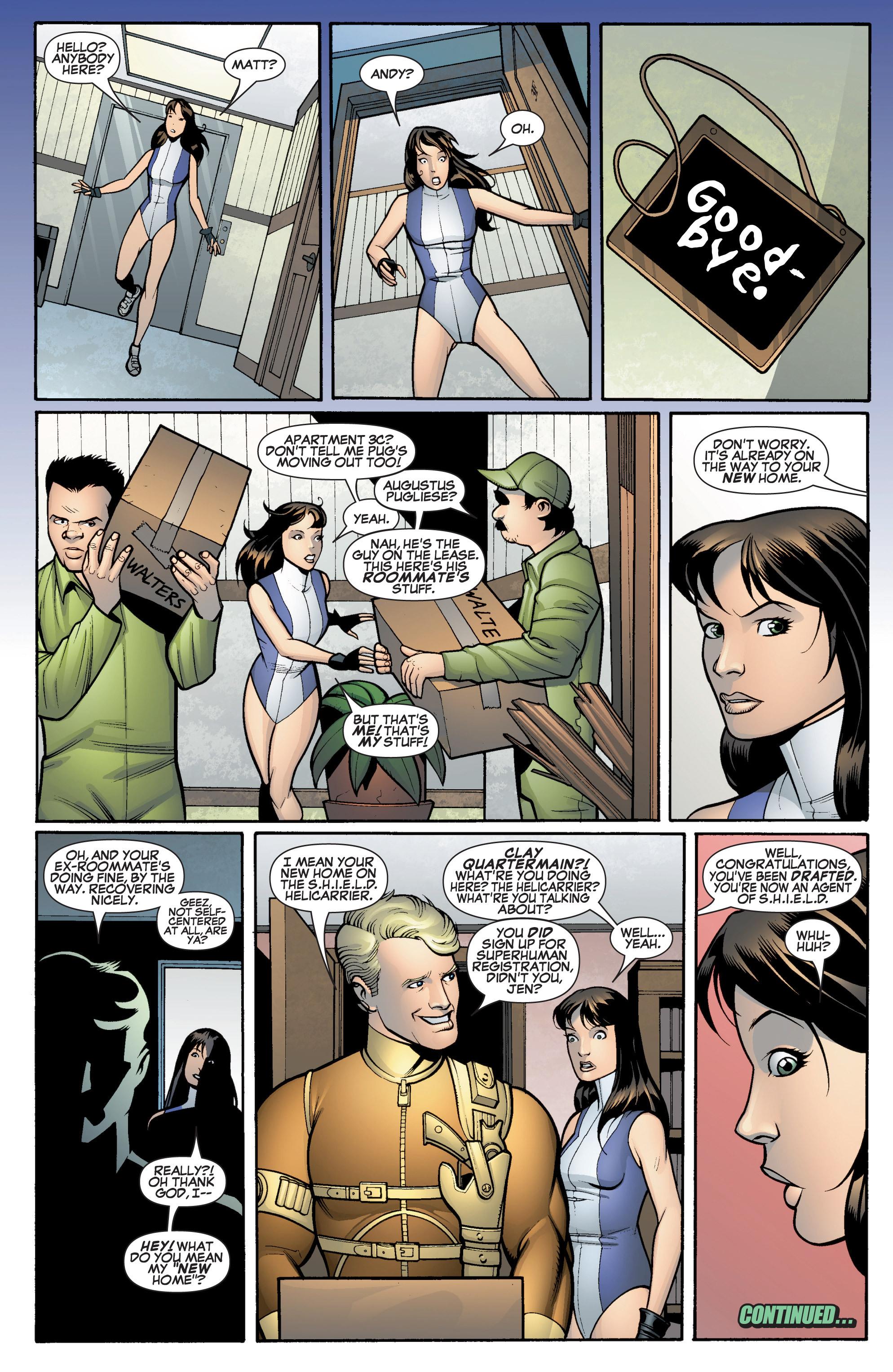 Read online She-Hulk (2005) comic -  Issue #14 - 22