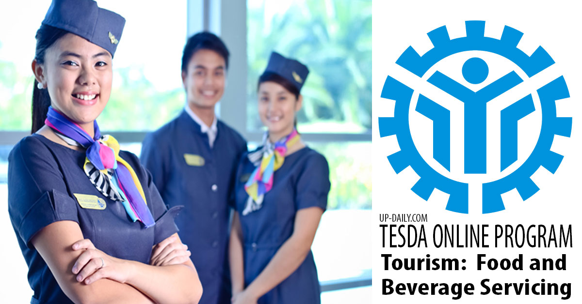 Learn Food and Beverage Servicing at Tesda Online Program Free