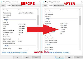 Cara merubah resolusi foto dengan aplikasi adobe lightroom