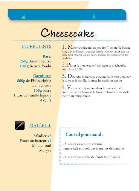 Cheesecake au fromage frais philadelphia caramel beurre salé