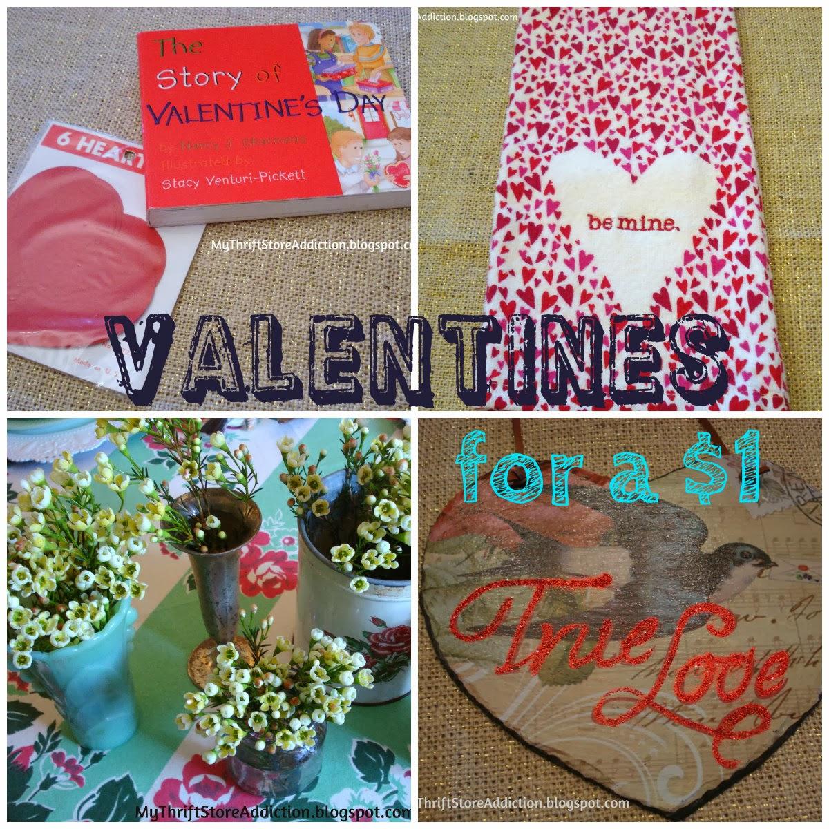 thrift store Valentine finds