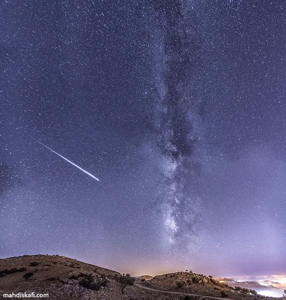 fotos da chuva de meteoros perseidas 9