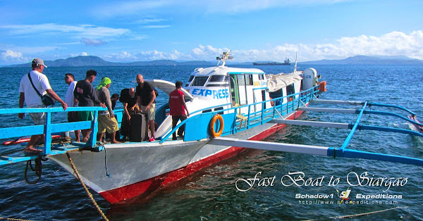Fast Boat to Siargao - Schadow1 Expeditions
