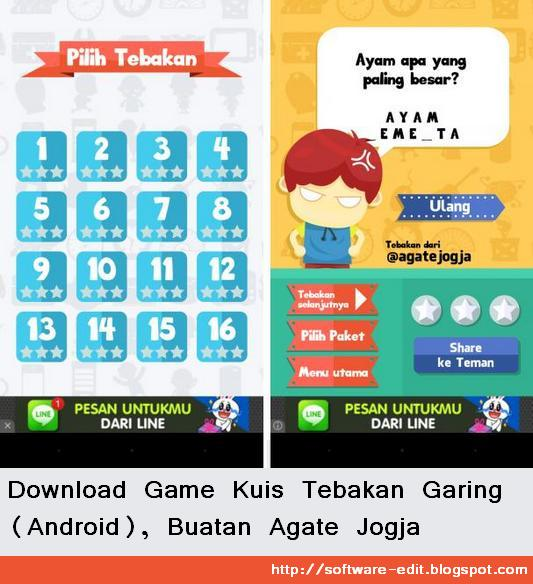 Download Game Kuis Tebakan Garing (Android), Buatan Agate Jogja