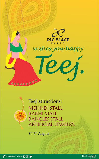 Celebrate Teej with DLF Place, Saket