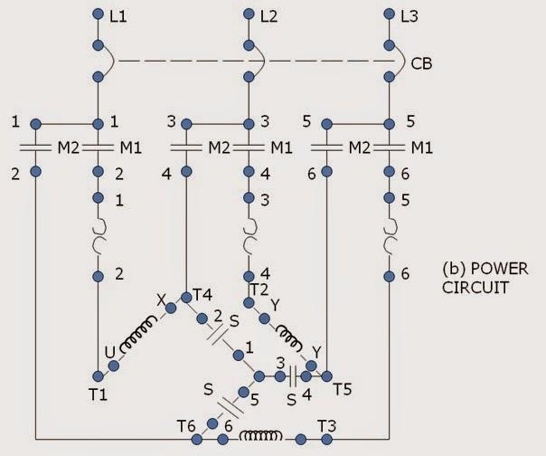 wye delta starter wiring diagram