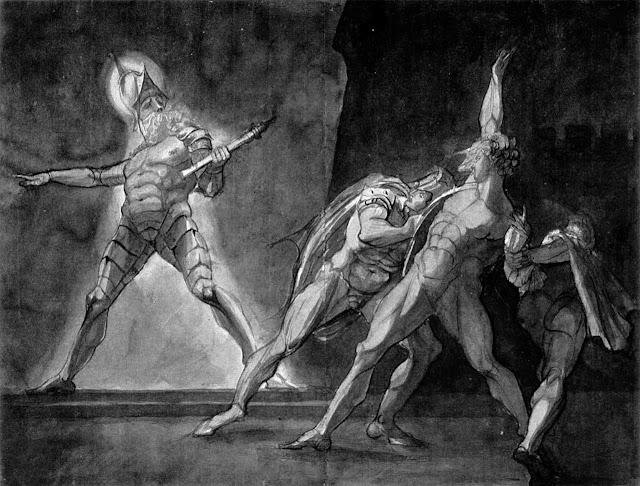 Amleto ed il fantasma del padre ( Henry Fuseli, 1780-1785)