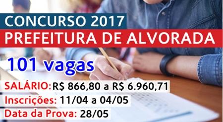 Apostila Concurso Prefeitura de Alvorada RS 2017
