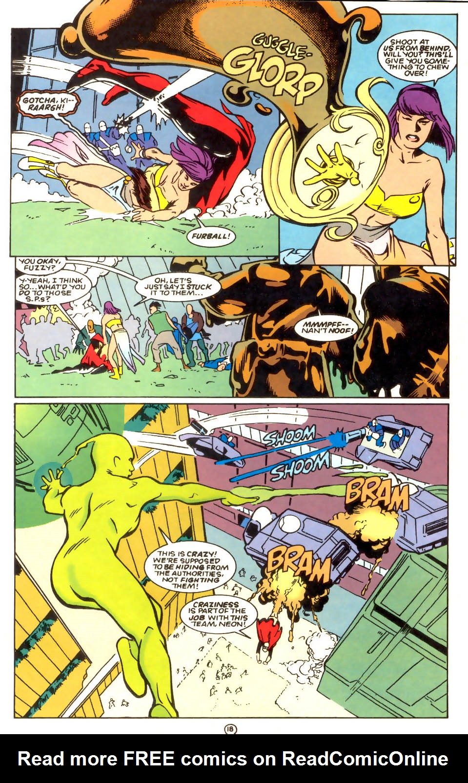 Legion of Super-Heroes (1989) 56 Page 18