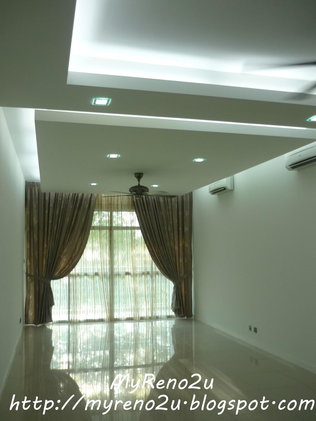 Plaster ceiling  Subang | MyReno2U