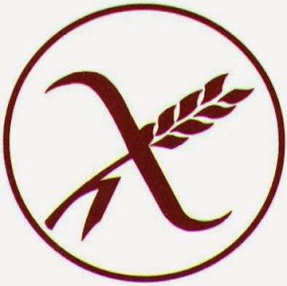 Espiga de trigo tachada