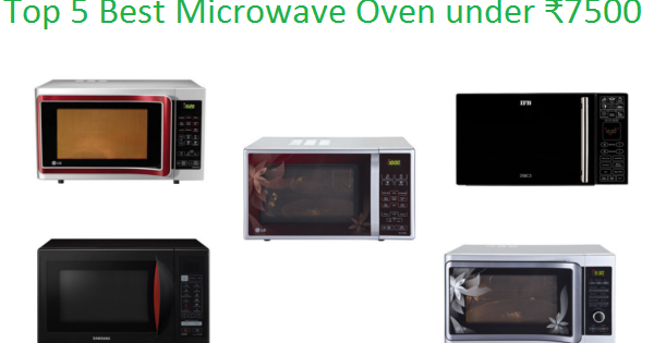 Top 5 Best Microwave Oven Under ₹7500 In India 2018 Im