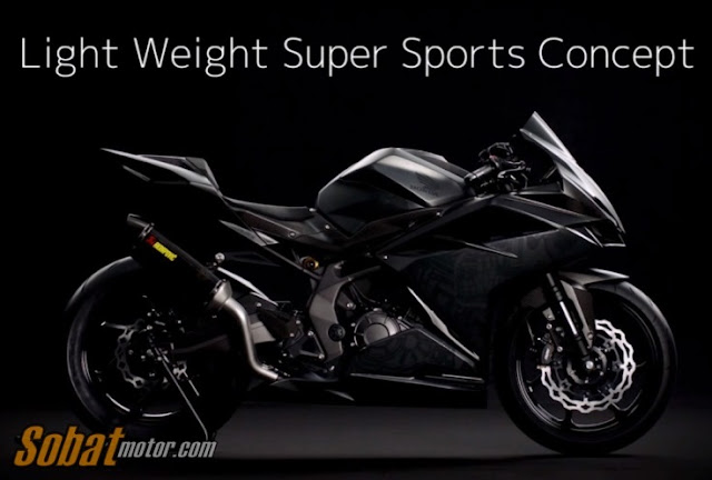Ini dia oficial video Honda CBR300RR Light Weight Super Sports Concept . . calon next Honda CBR 250R