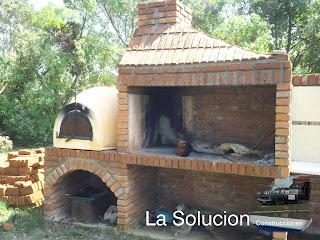 Construccin Barbacoa Uruguaya Plano