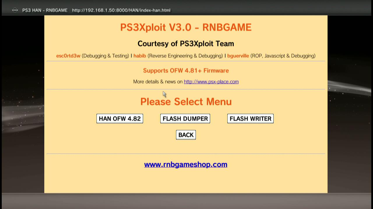 Try These Ps3xploit Han 4 82 {Mahindra Racing}