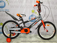 Tengah Family Inferno Boy 18 Inci Sepeda Anak Laki-Laki
