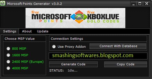 Free xbox live points codes no surveys or downloads folder