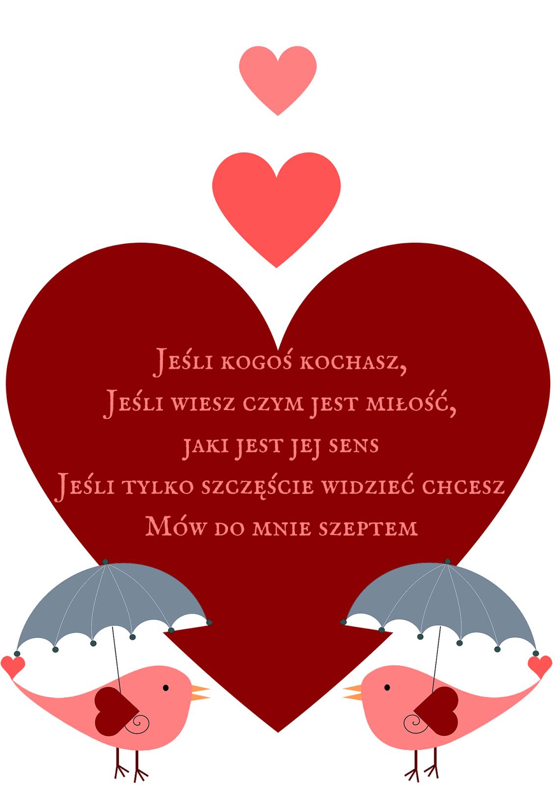 Plakaty I Pocztówki Do Pobrania Na Walentynki Motheratorka