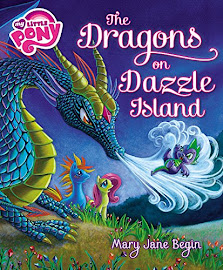 MLP The Dragons of Dazzle Island Book Media