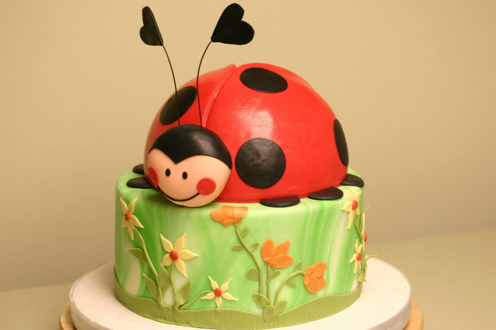 Confectionery Designs: Animated Children's Birthday Cakes