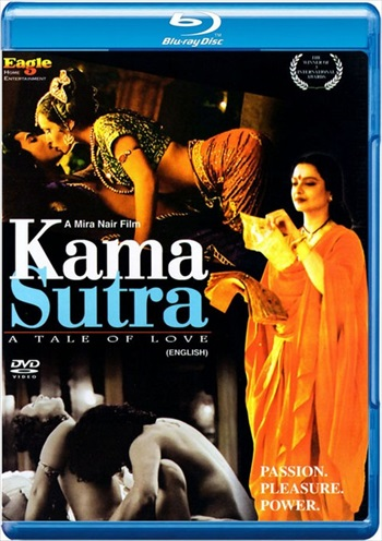 Poster of Kama Sutra A Tale of Love 1996 BRRip 720p Hindi Dubbed 700MB Free Download Worldfree4u