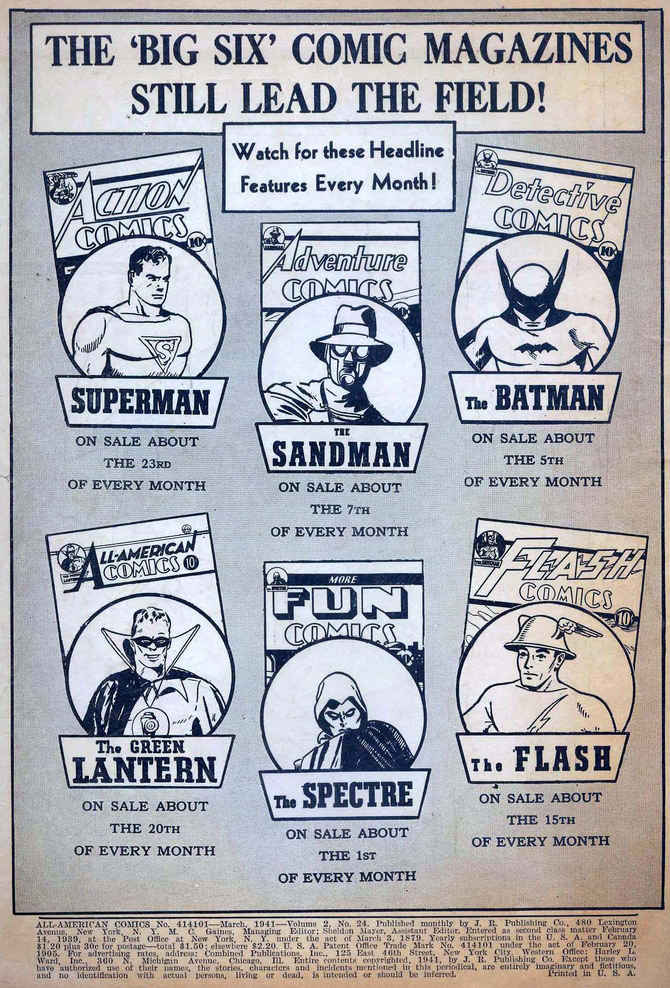 Read online All-American Comics (1939) comic -  Issue #24 - 2