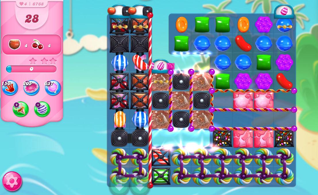 Candy Crush Saga level 6768