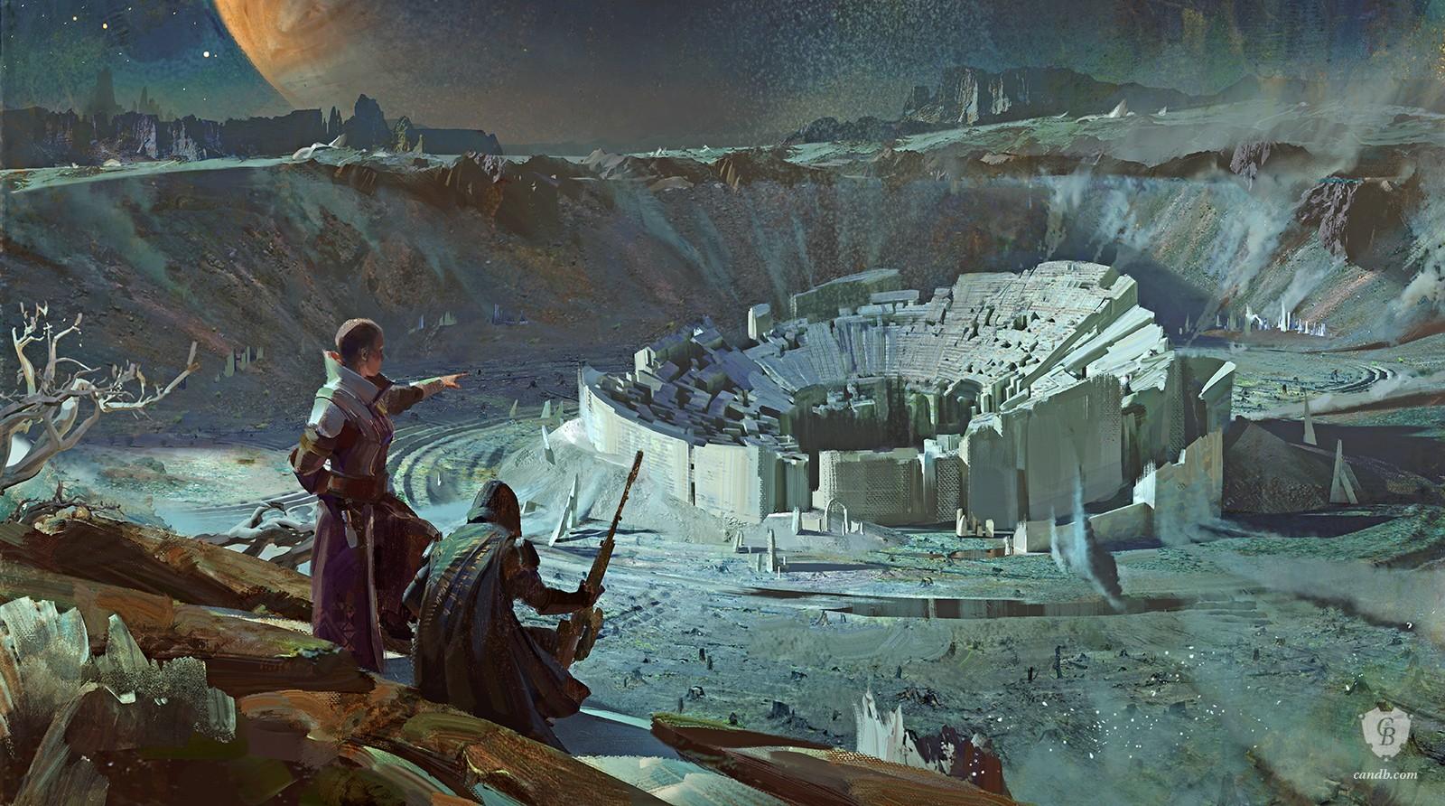 The Geeky Nerfherder: #CoolArt: \'Destiny 2\' Video Game Art Prints ...