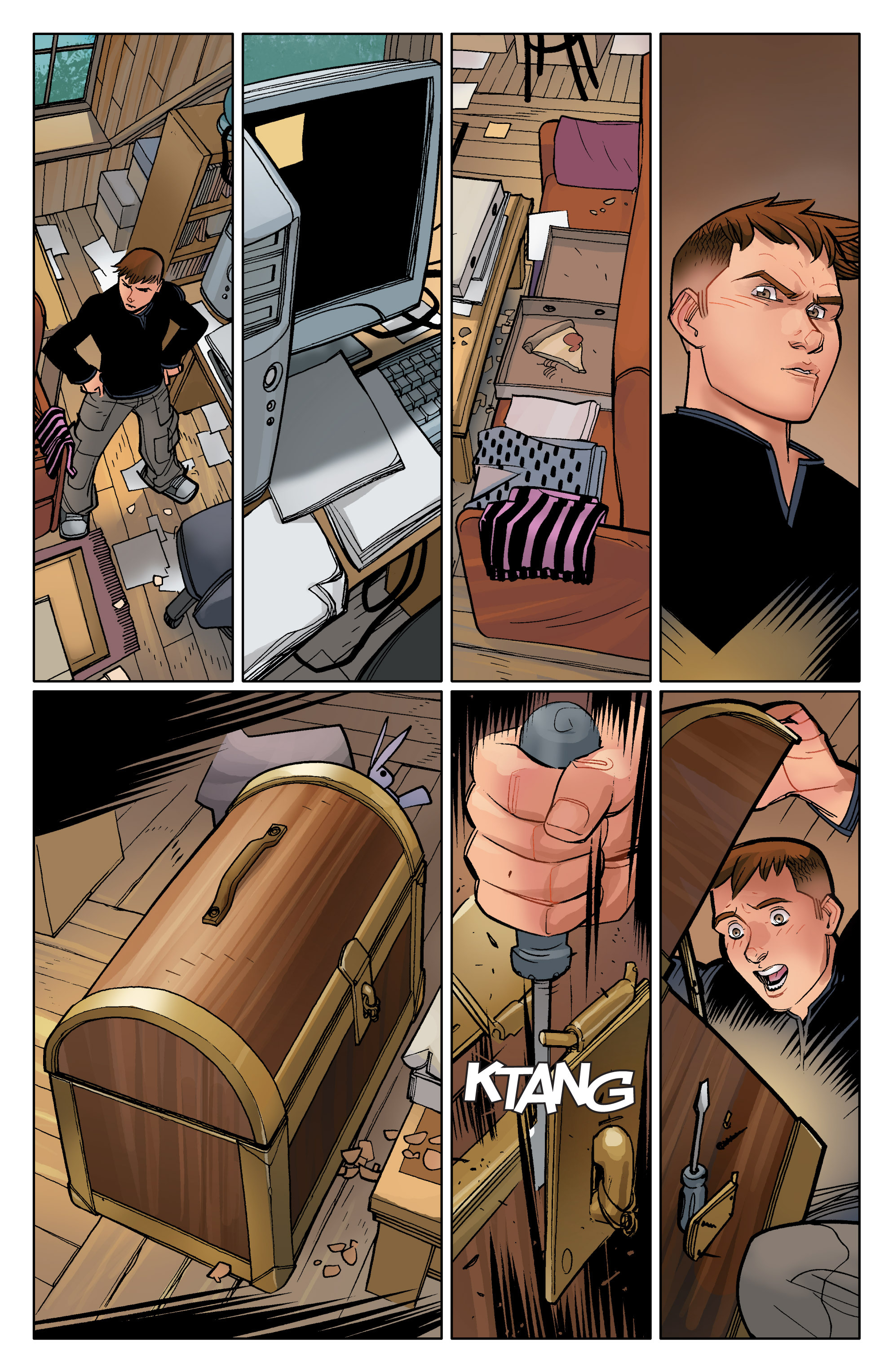Read online Ultimate Spider-Man (2009) comic -  Issue #12 - 21